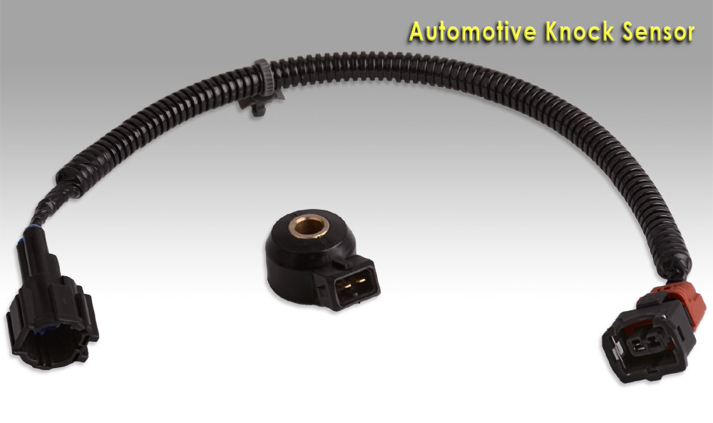 new knock sensor with 14 quot wiring harness for nissan infiniti 22060 30p00 ks79 ebay