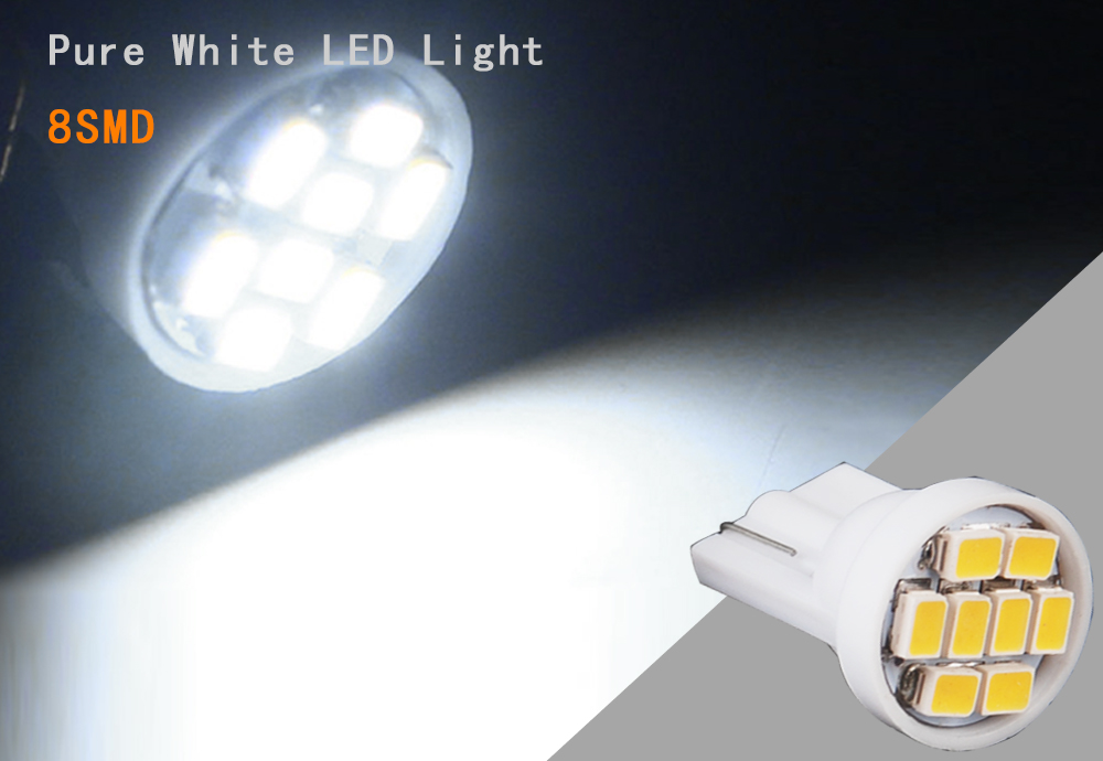 14pcs pure white led light bulb interior package kit deal - 2004 acura tl led interior lights ...