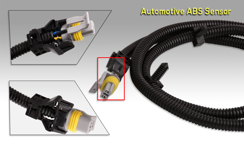 Center_003 2x for cadillac chevrolet pontia abs wheel speed sensor wire  at edmiracle.co