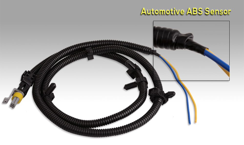Center_005 2x for cadillac chevrolet pontia abs wheel speed sensor wire  at n-0.co