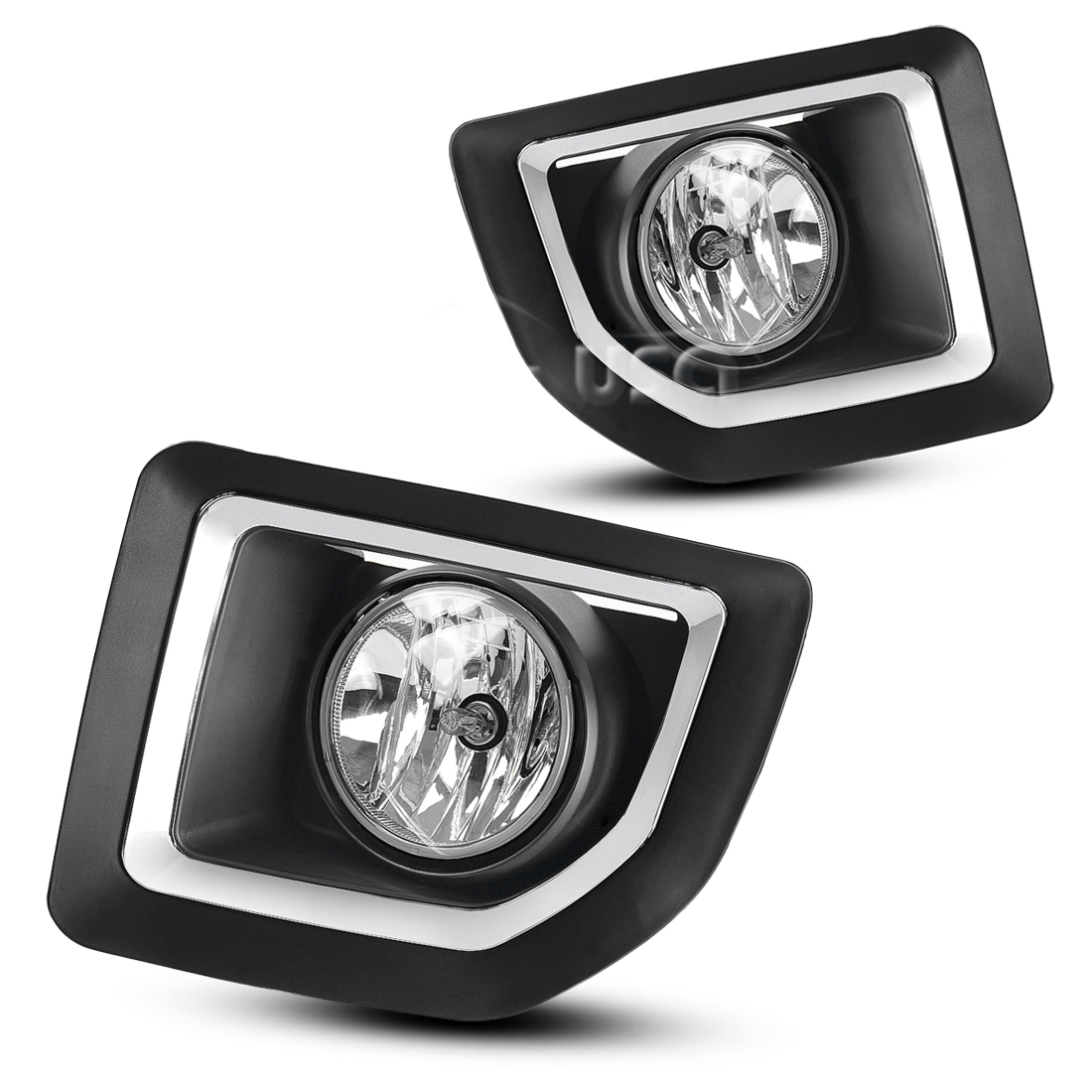 For 2015 2016 Gmc Sierra 2500 Hd Clear Fog Lights Lamps W