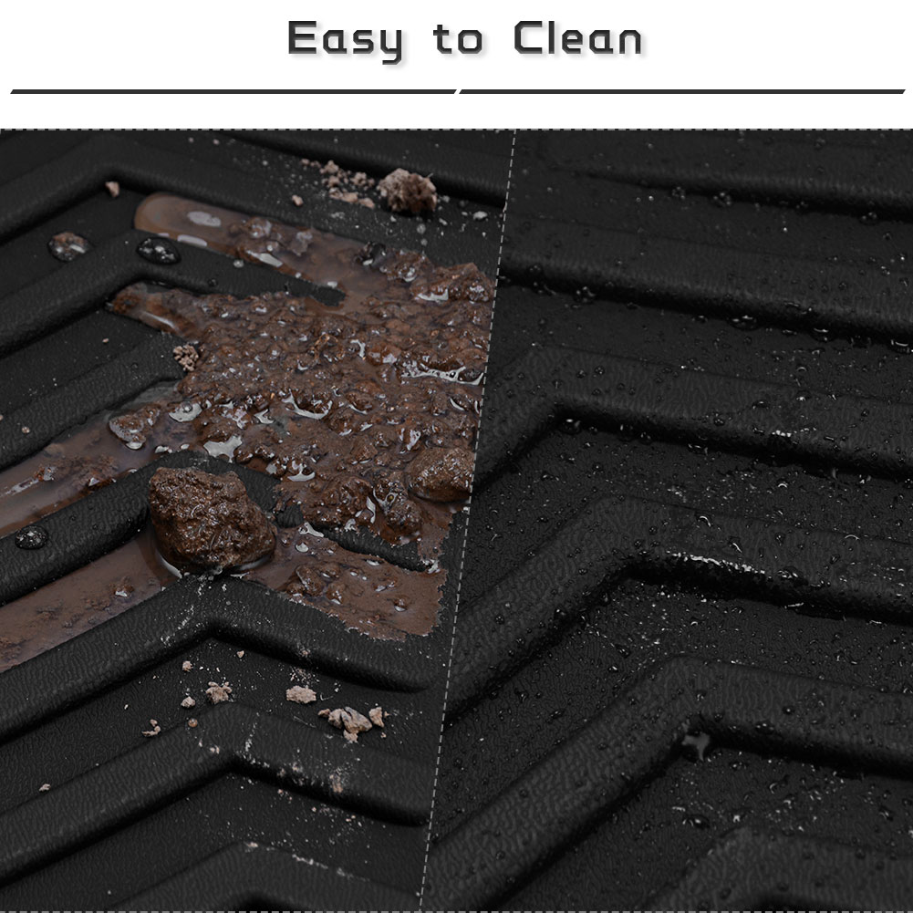 All Weather Floor Mats Floor Liners For 2011-2019 Ford