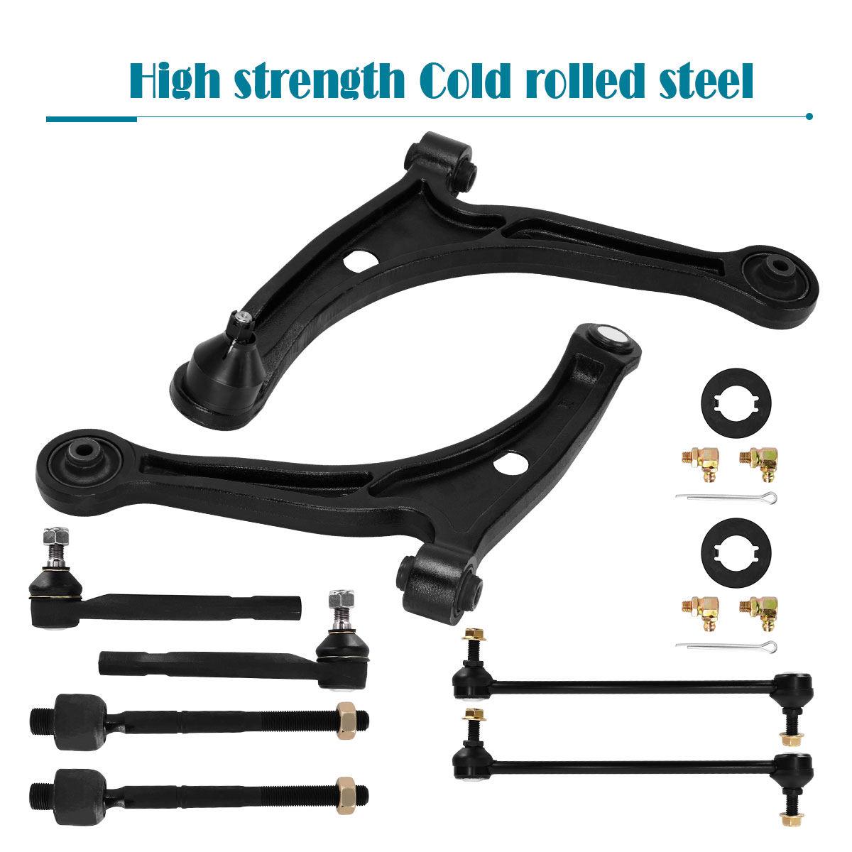 8pc Front Lower Control Arm Kit For 2001-05 Acura MDX