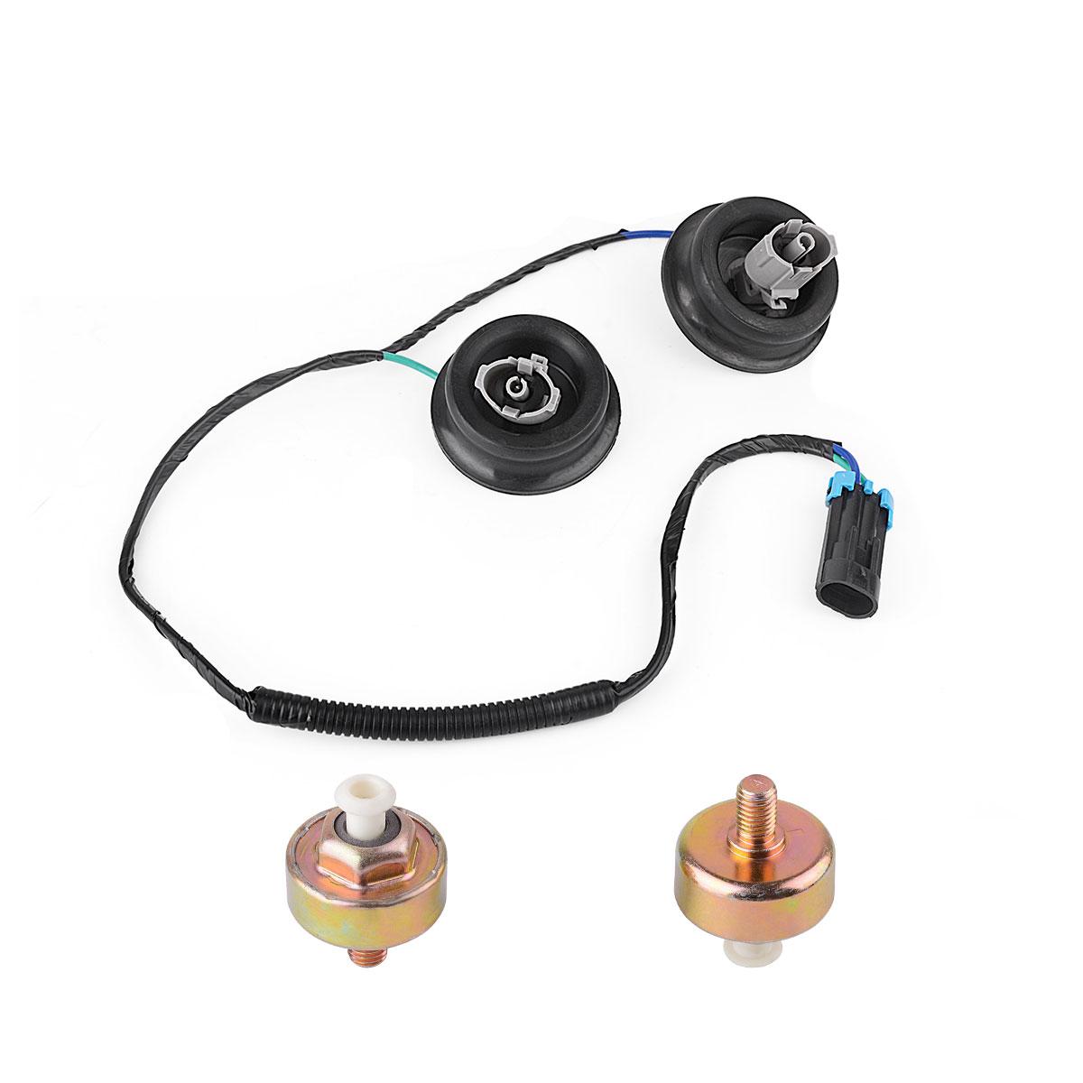 2xknock Sensor With Harness Pair Kit Set For 2001 2007 Chevy Express Gm Ls1 Wiring 2 Knock Sensors Wire Lq9 Ls6 48l 53l 57l 60l 81l