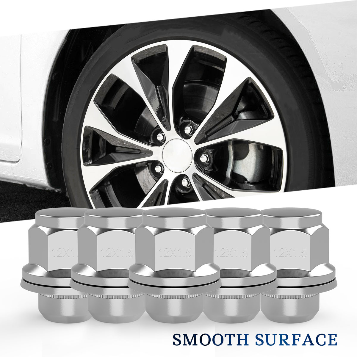 12x1.5 Nuts For Toyota Prius C 11-16 24 Original Style Wheel Nuts ...